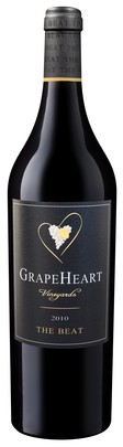 2010 GrapeHeart, The Beat (Red Blend)
